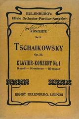 Klavier konzert B moll, op. 23 - Tchaikowsky -  AA.VV. - Otras editoriales