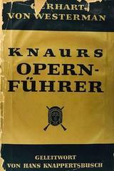 Knaurs opernfuhrer  -  AA.VV. - Otras editoriales