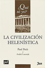 La civilización helenística -  AA.VV. - JUS