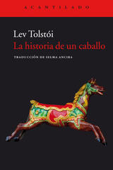 La historia de un caballo - Lev Tolstói - Acantilado