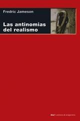 Las antinomias del realismo - Fredric Jameson - Akal