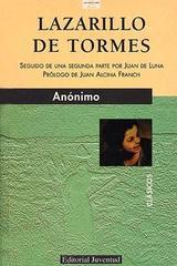 Lazarillo de Tormes (5a edición) -  Anónimo - Editorial Juventud