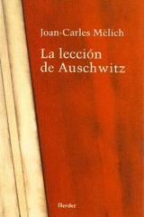 La Lección de Auschwitz - Joan-Carles Mèlich - Herder