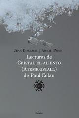 Lecturas de Cristal de aliento (Atemkristall) de Paul Celan - Arnau Pons - Herder México