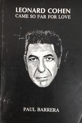 Leonard Cohen - Paul Barrera - Otras editoriales