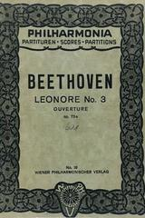 Leonore num. 3 ouverture op. 72a - Beethoven -  AA.VV. - Otras editoriales