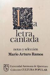 Letra cantada -  AA.VV. - Otras editoriales