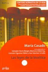 Las leyes de la bioética - María Casado - Editorial Gedisa
