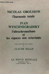 L'harmonie totale. - Nicolas Obouhow Ivan Wyschnegradsky -  AA.VV. - Otras editoriales