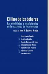 El libro de los deberes - José A. Estévez Araújo - Trotta