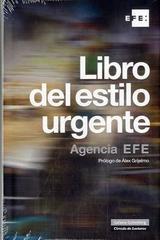Libro del estilo urgente -  Agencia EFE - Galaxia Gutenberg