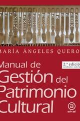 Manual de Gestión del Patrimonio Cultural - María Ángeles Querol - Akal