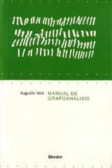 Manual de grafoanálisis - Augusto Vels - Herder