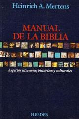 Manual de la Biblia - Heinrich A. Mertens - Herder