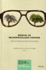 Manual de neuropsicología forense - Adolfo Jarne - Herder