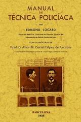 Manual de técnica policiaca - Edmond Locard - Maxtor
