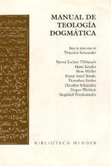 Manual de teología dogmática - Theodor Schneider - Herder