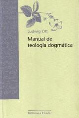 Manual de teología dogmática - Ludwig Ott - Herder