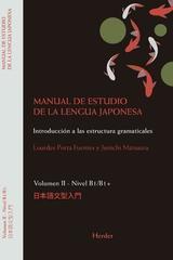 Manual de estudio de la lengua japonesa II, B1/B2 - Junichi Matsuura - Herder