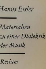 Materialien zu einer Dialektik der Musik - Hanss Eisler -  AA.VV. - Otras editoriales