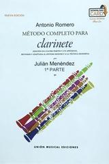 Método completo para clarinete - Antonio Romero -  AA.VV. - Hal Leonard