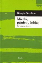 Miedo, pánico, fobias - Giorgio Nardone - Herder