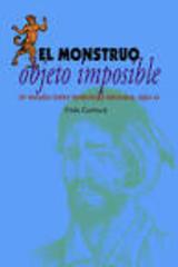 El monstruo, objeto imposible - Frida Gorbach - Itaca