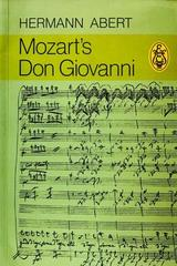 Mozarts Don Giovanni - Hermann Abert -  AA.VV. - Otras editoriales