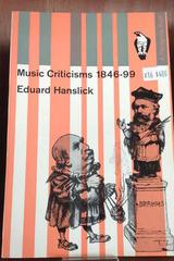 Music Criticisms - Eduard Hanslick - Otras editoriales