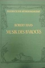 Musik des Barocks - Robert Haas -  AA.VV. - Otras editoriales