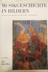 Musikgeschichte in Bildern - Samuel Martí -  AA.VV. - Otras editoriales