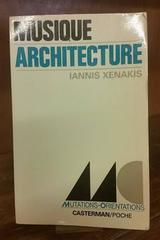 Musique architecture - Iannis Xenakis - Otras editoriales