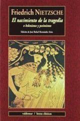 El nacimiento de la tragedia - Friedrich Nietzsche - Valdemar