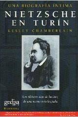 Nietzsche en Turín - Lesley Chamberlain - Editorial Gedisa