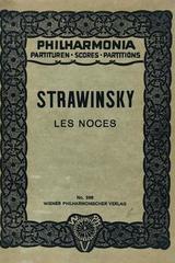 Les Noces -  Strawinsky -  AA.VV. - Otras editoriales