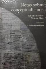 Notas sobre conceptualismos -  AA.VV. - Otras editoriales