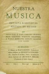 Nuestra música (año 1, #2) -  AA.VV. - Otras editoriales