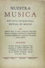 Nuestra música (año 2, #7) -  AA.VV. - Otras editoriales