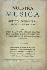 Nuestra música (año 2, #8) -  AA.VV. - Otras editoriales