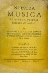 Nuestra música (año 3, #12) -  AA.VV. - Otras editoriales