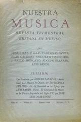Nuestra música (año 3, #13) -  AA.VV. - Otras editoriales