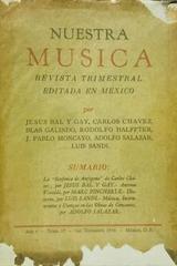Nuestra música (año 5, #17) -  AA.VV. - Otras editoriales