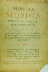 Nuestra música (año 6, #22) -  AA.VV. - Otras editoriales