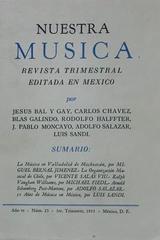 Nuestra música (año 6, #23) -  AA.VV. - Otras editoriales