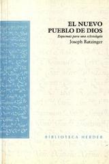 El Nuevo pueblo de Dios - Joseph Ratzinger - Herder