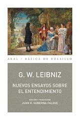 Nuevos ensayos sobre el entendimiento - Gottfried Wilhelm Leibniz - Akal