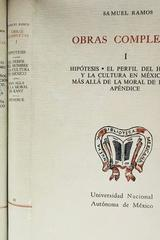 Obras completas (3 tomos) - Samuel Ramos -  AA.VV. - Otras editoriales