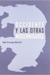 Occidente y las otras modernidades - Ander Gurrutxaga - Abada Editores