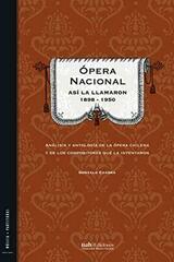 Ópera Nacional - Gonzalo Cuadra - Universidad Alberto Hurtado