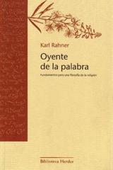 Oyente de la Palabra - Karl Rahner - Herder